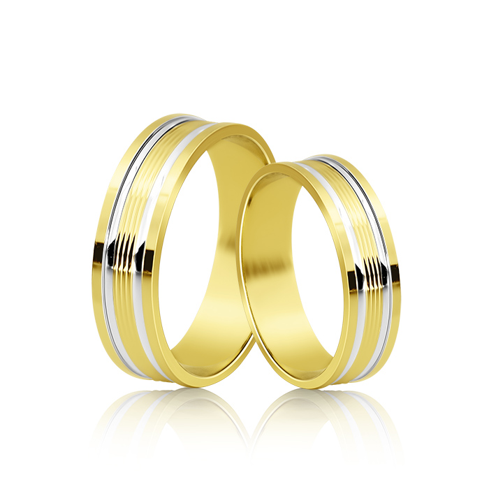 Wedding Ring Gold Onesta 415
