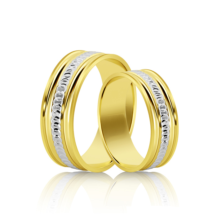 Wedding Ring Gold Onesta 417