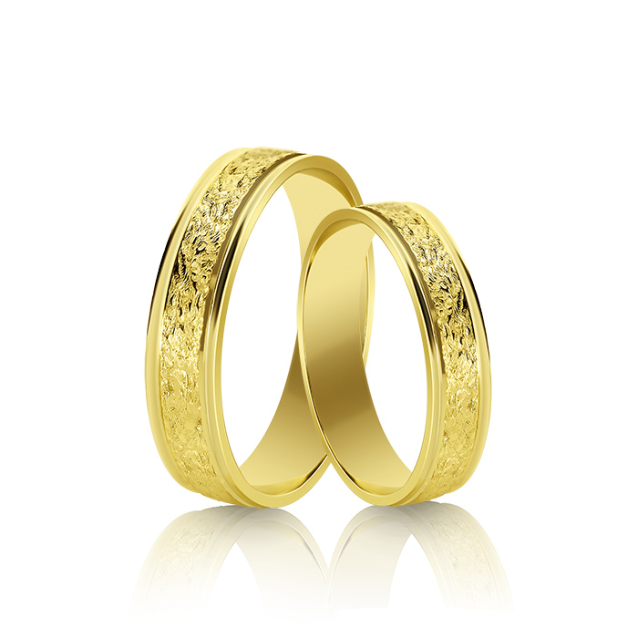 Wedding Ring Gold Atractivo 511