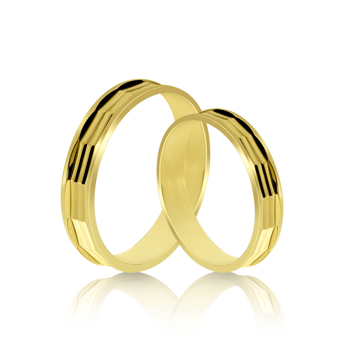 Wedding Ring Gold Atractivo 512