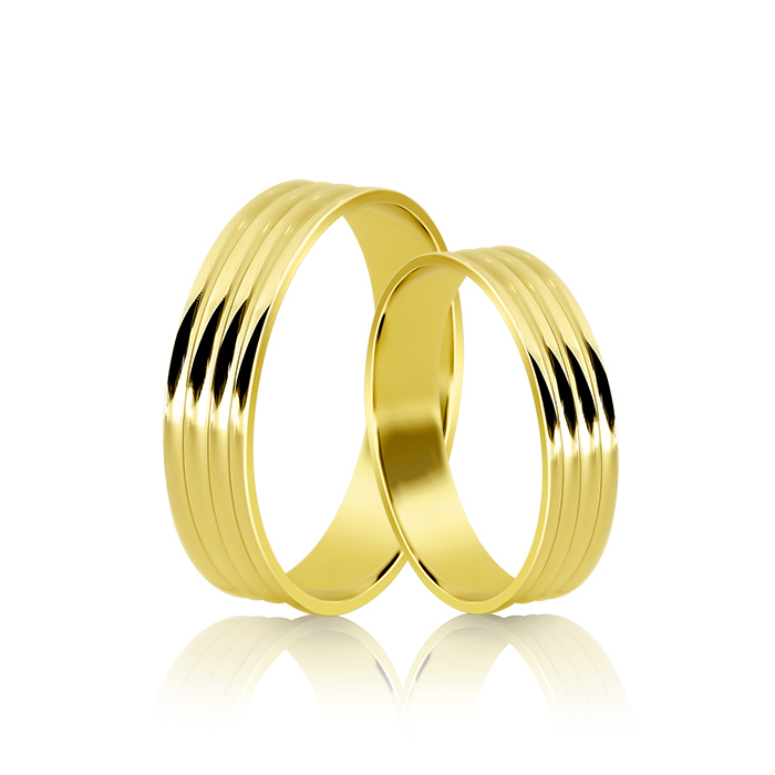 Wedding Ring Gold Atractivo 514