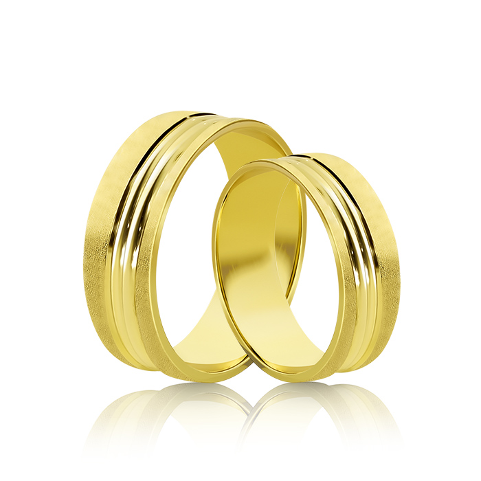 Wedding Ring Gold Atractivo 515