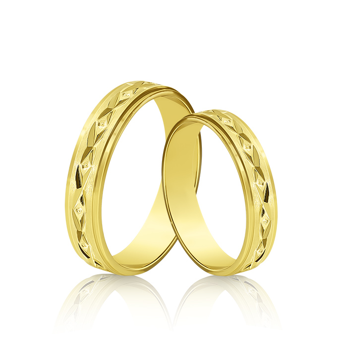 Wedding Ring Gold Onesta 406