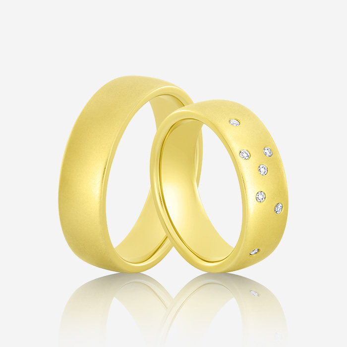 Wedding Ring Gold Elegante 629