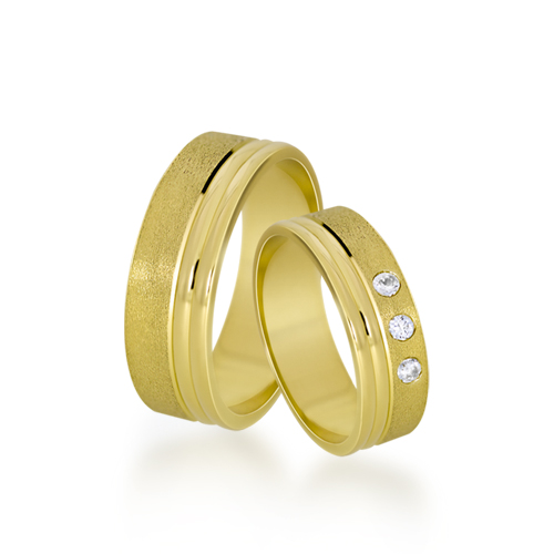 Wedding Ring Gold Euforia 119