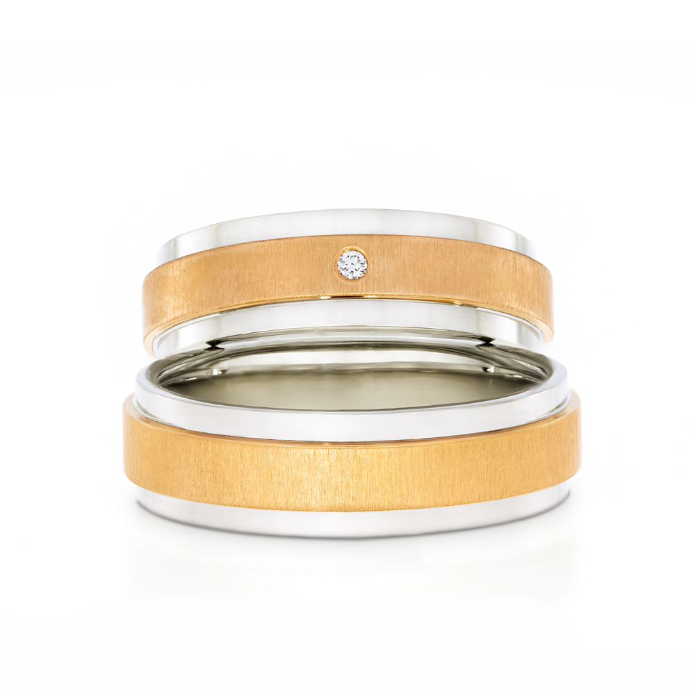 Wedding Ring Gold Euforia 110