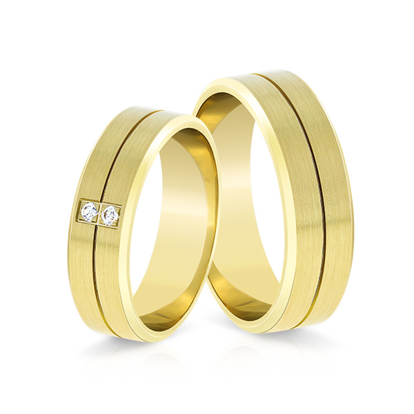 Wedding Ring Gold Elegante 617d