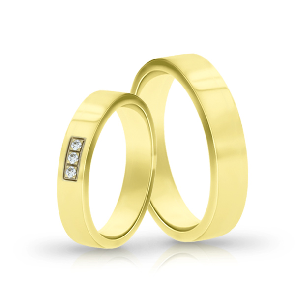Wedding Ring Gold Elegante 619