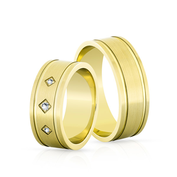 Wedding Ring Gold Elegante 620