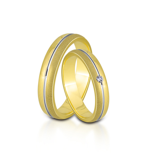 Wedding Ring Gold Euforia 106