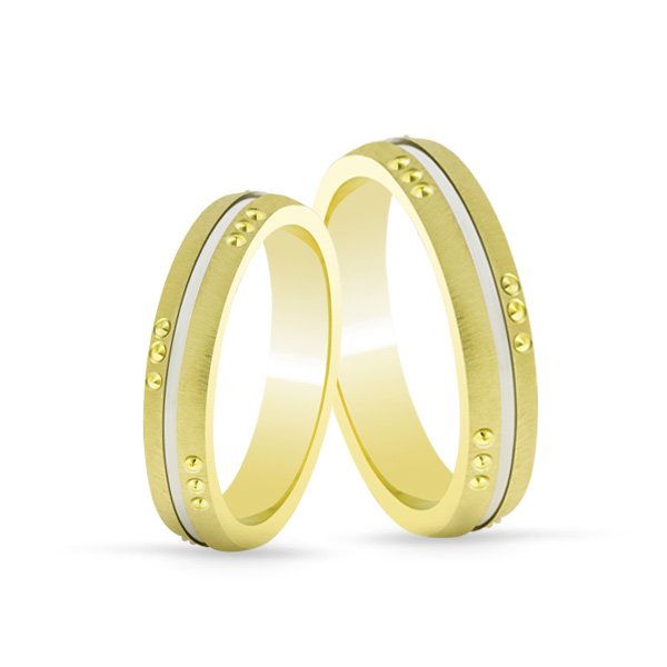 Wedding Ring Gold Onesta 410
