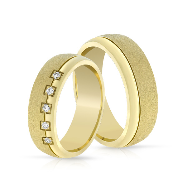 Wedding Ring Gold Elegante 621