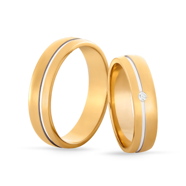 Wedding Ring Gold Euforia 105