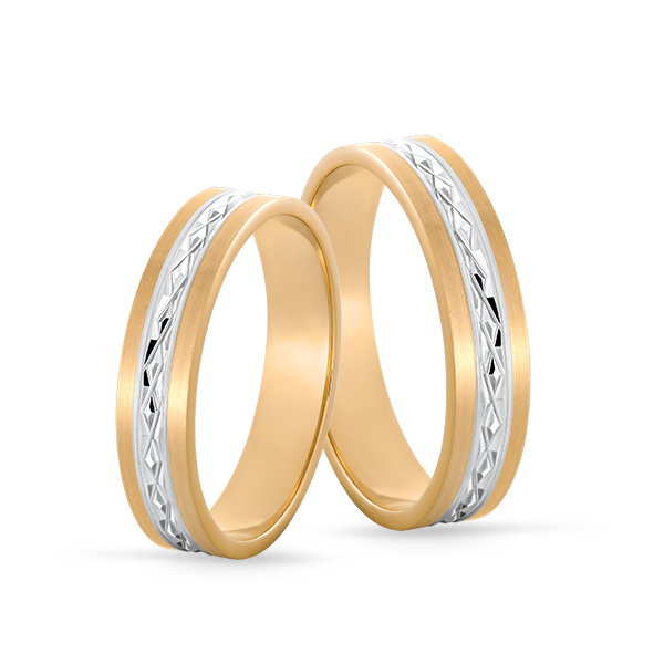 Wedding Ring Gold Onesta 420