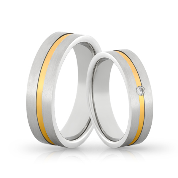 Wedding Ring Gold Colori 705