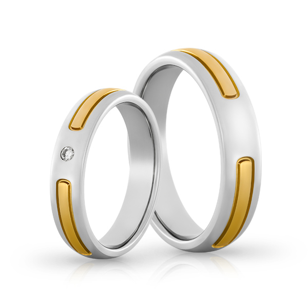 Wedding Ring Gold Elegante 625
