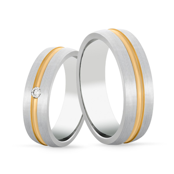 Wedding Ring Gold Euforia 107