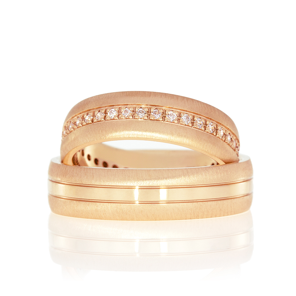 Wedding Ring Gold Elegante 609