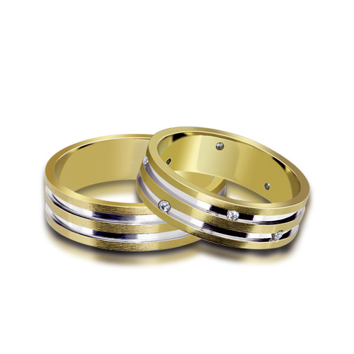 Wedding Ring Gold Euforia 113