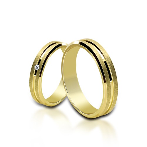 Wedding Ring Gold Euforia 102