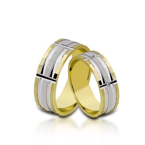 Wedding Ring Gold Euforia 112