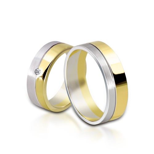 Wedding Ring Gold Colori 701