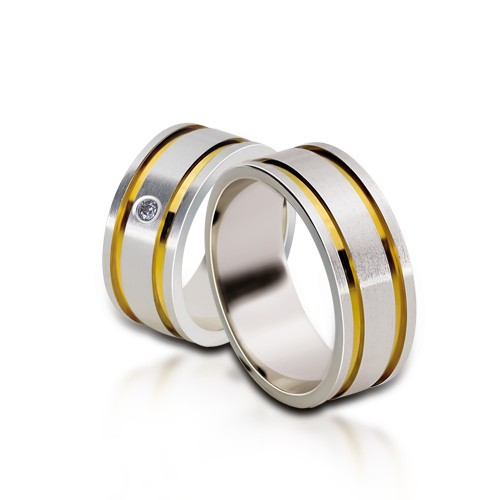 Wedding Ring Gold Euforia 115