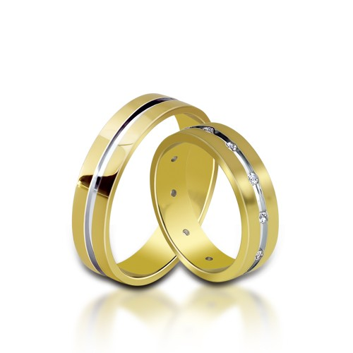 Wedding Ring Gold Euforia 116
