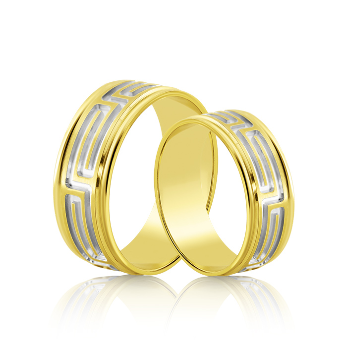 Wedding Ring Gold Fantasia 303