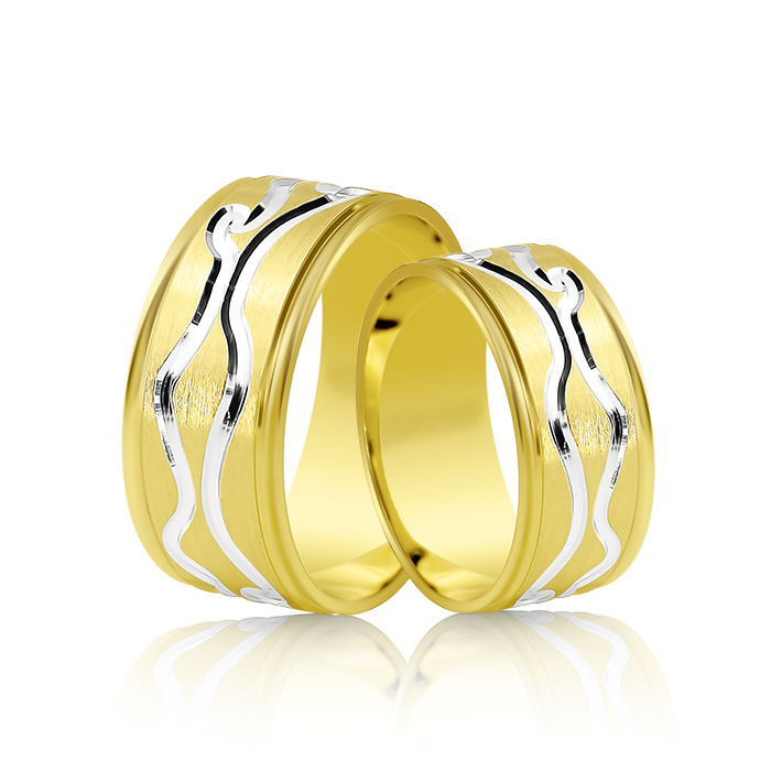Wedding Ring Gold Fantasia 305