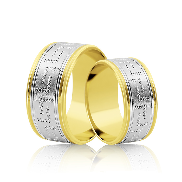 Wedding Ring Gold Fantasia 307