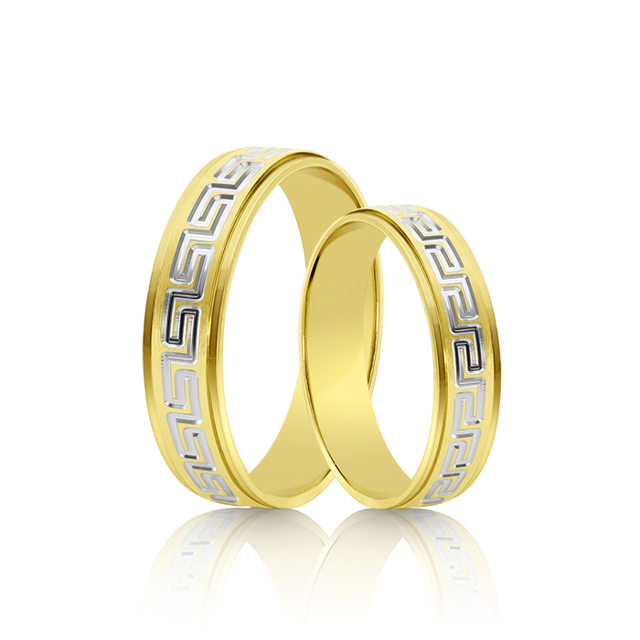 Wedding Ring Gold Fantasia 301