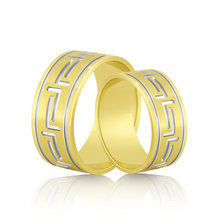 Wedding Ring Gold Fantasia 302