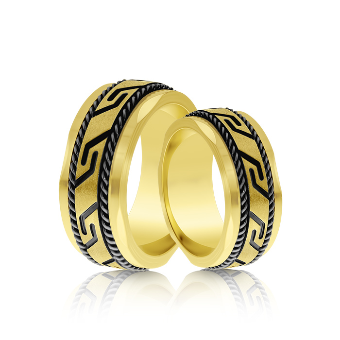Wedding Ring Gold Modelli 204