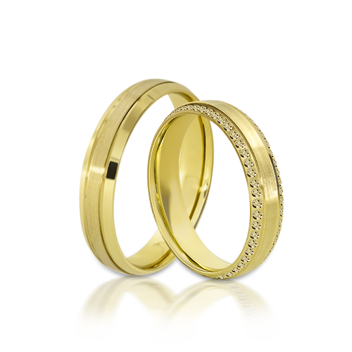 Wedding Ring Gold Onesta 402