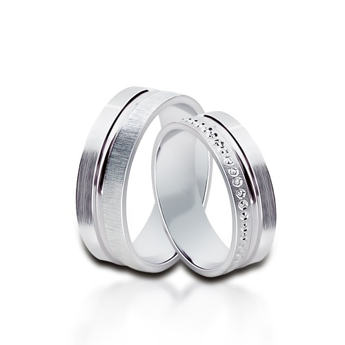 Wedding Ring Gold Onesta 407