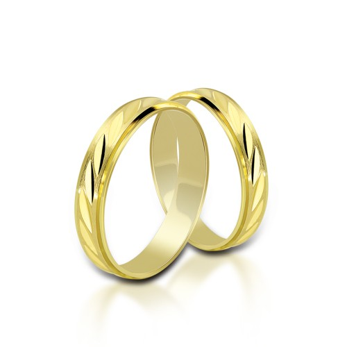Wedding Ring Gold Onesta 408