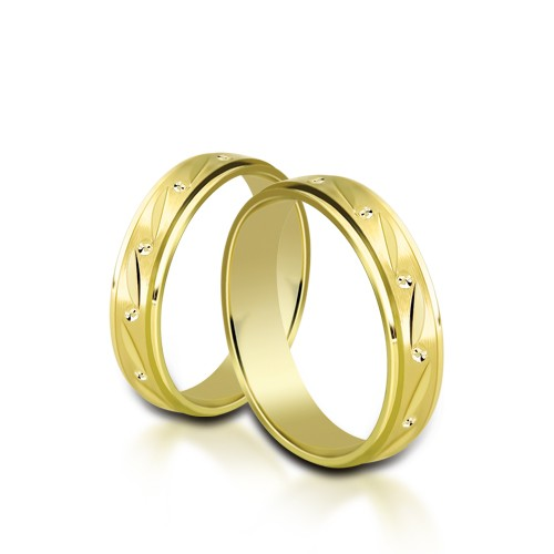 Wedding Ring Gold Onesta 421