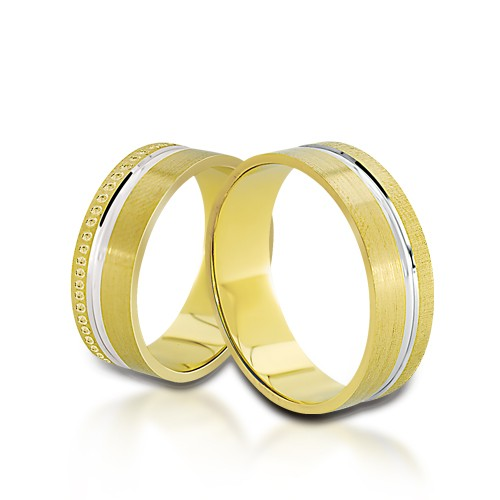 Wedding Ring Gold Onesta 409
