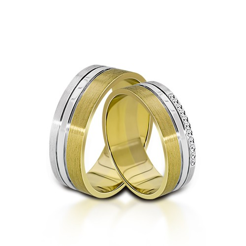 Wedding Ring Gold Colori 703
