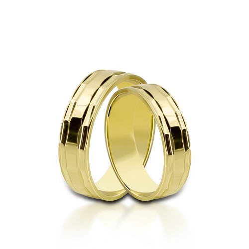 Wedding Ring Gold Onesta 412