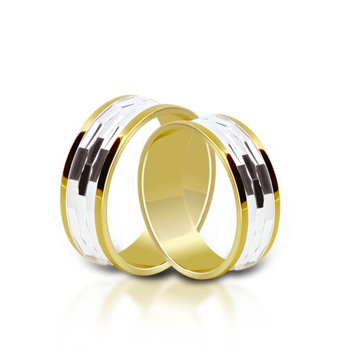 Wedding Ring Gold Onesta 413