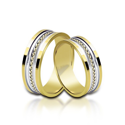 Wedding Ring Gold Onesta 416