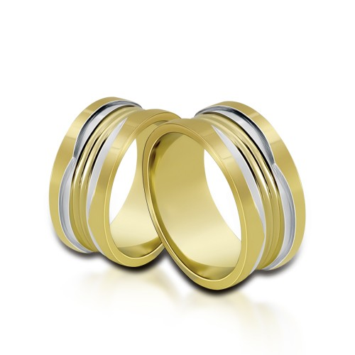 Wedding Ring Gold Onesta 418