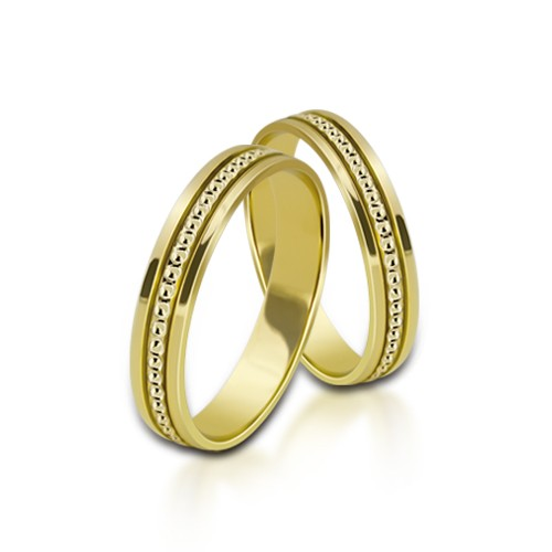 Wedding Ring Gold Onesta 404