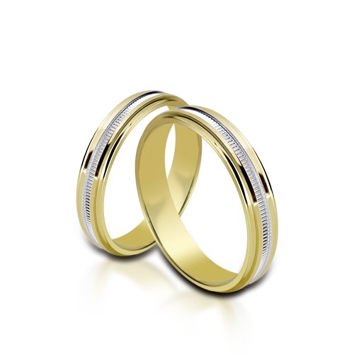 Wedding Ring Gold Onesta 405