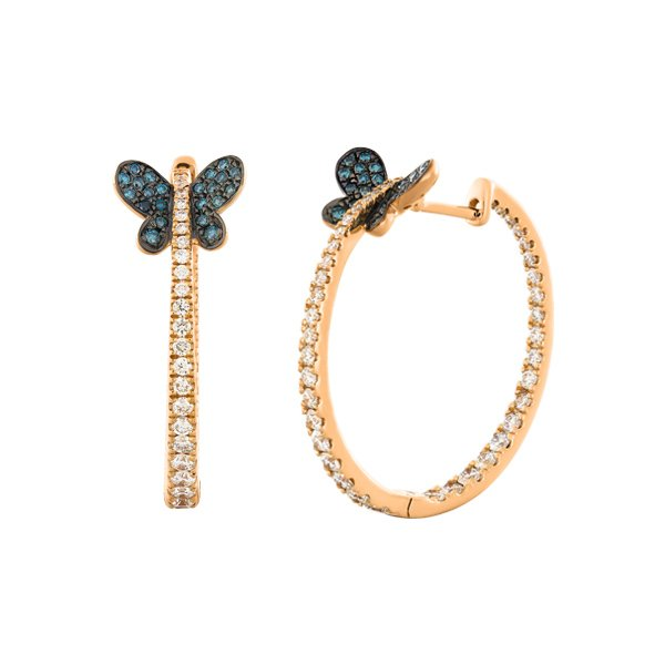 Diamonds Earrings Cedpr5847 Bijuteria Stil